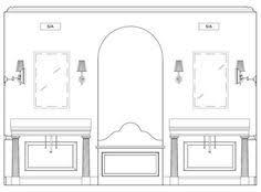 Bathroom Bathroom Sconce Height Bathroom Sconce Height Bathroom - Bathroom vanity light mounting height