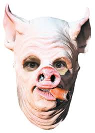 amazon com pig out cigar animal latex halloween costume