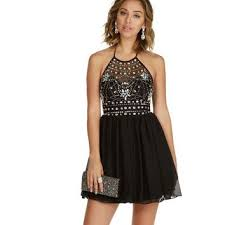 danni black homecoming dress from windsor