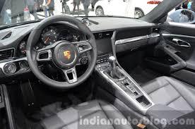 porsche cars interior porsche 911 carrera cabriolet facelift 991 2 interior at the iaa