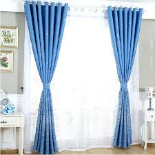 curtains for blue room best blue and white polyester embroidered fl pattern bedroom curtains in blue curtains for blue room bedroom