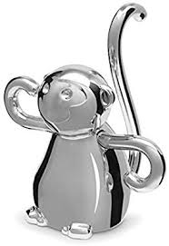 metal giraffe ring holder images Umbra zoola monkey ring holder chrome home kitchen jpg