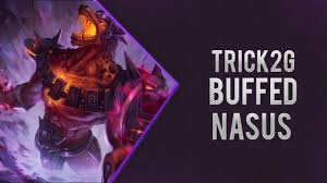 Challenge Trick2g Trick2g As New Buffed Nasus Top S7 Patch 7 15 League