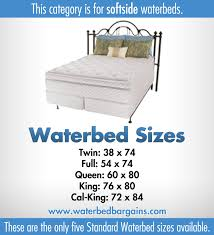 Super King Bed Size Softside Waterbed Waterbed With Memory Foam Layer Sizes Super