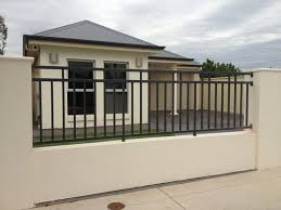 outdoor design simple modern home with ideas also fence wall