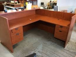 Laminate Reception Desk New York Discount Office Furniture New 6 X6 Laminate Reception Desk