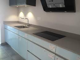cuisine plan de travail quartz beau plan de travail quartz ou granit et plan de travail quartz ou