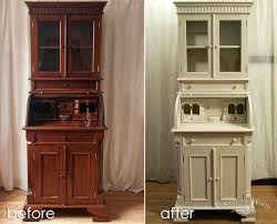 tall shabby chic bureau no 24 touch the wood