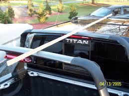 nissan frontier dual exhaust armada roof rack installed nissan titan forum