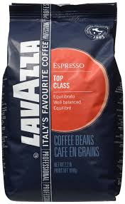 espresso coffee bag lavazza top class espresso coffee beans 6kgs