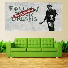 Home Decor Paintings For Sale Online Get Cheap Banksy Canvas Art For Sale Aliexpress Com