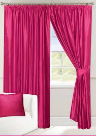 Fuschia Blackout Curtains Allure Fuchsia Lined Curtains
