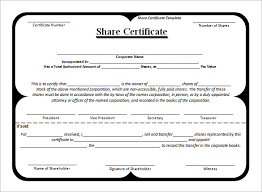 free company share certificate template imts2010 info