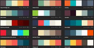 Color Scheme by Trendy Color Schemes Home Planning Ideas 2017