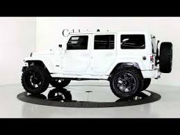 white jeep wrangler unlimited lifted 2013 jeep wrangler unlimited hardtop white blk 4 lift 22 s