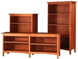 Free Wood Bookshelf Plans by Cherry Wood Bookcase With Doors Doherty House Cherry Wood