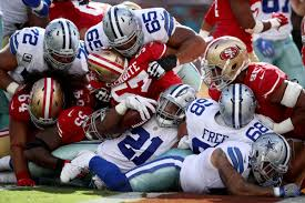 Nfl Tv Map Week 3 Cowboys 49ers 2017 Week 7 Game How To Watch Game Time Tv