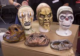 halloween prosthetic mask scary prosthetics images reverse search