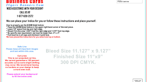 singular business card bleed cards tom buisnesscard layout square