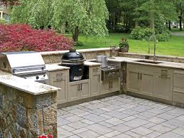 exteriors contemporary outdoor kitchen designs with featuring