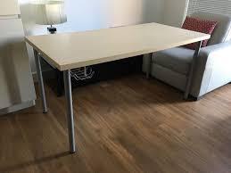 Ikea Laminate Flooring Ikea Linnmon Desk Ikea Signum Cable Rail In Reading Berkshire