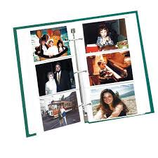 photo pages 4x6 pioneer rst6 refill pages for 3 ring albums 4 x 6 inch rst6
