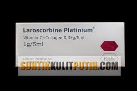 Vitamin C Kolagen Suntikan Harga laroscorbine platinum jual suntik putih original