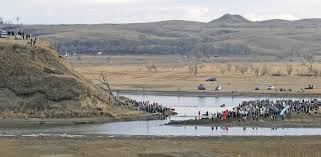 anti dakota pipeline activists r up efforts on thanksgiving day