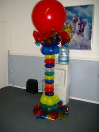 balloon columns balloons on the run party decorations r us balloon columns