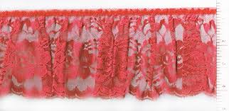 Buttons Buckles Ruffles Lace - pre gathered ruffled lace trims huntington fabric depot