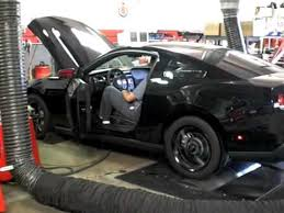 2010 Mustang Black 2010 Mustang Gt Black Murdered Smoked Out Stock Dyno Results Youtube