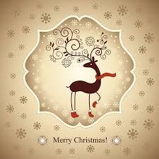 free christmas card ai file