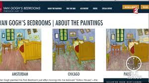 les 3 versions du tableau la chambre de gogh à arles 2016 02