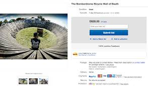ebay motocross bikes for sale this bicycle u0027wall of death u0027 is currently for sale on ebay
