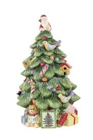 amazon com spode christmas tree sculpted christmas tree shaped