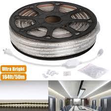 Led Strip Lights Automotive by 110v 3528 Led Strips Daylight White 50m Led Tape Light Le