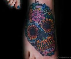 100 stylish skull tattoos on
