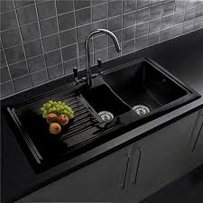 Kitchen Sink Black Popular Black Kitchen Sink Throughout Reginox Rl401cb 1 5 Bowl