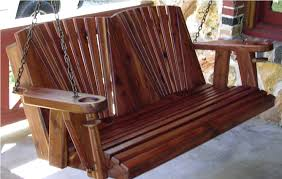 cedar porch swing medium size of patio swing made with western red