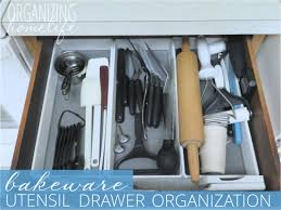 how to organise kitchen utensils drawer how to organize a baking utensil drawer organize your