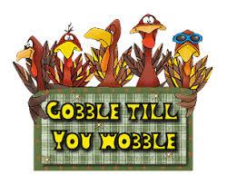 gobble till you wobble turkey turkeys animation animations