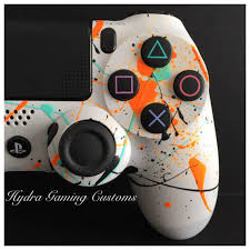 how to change the color of ps4 controller light custom ps4 controller splatter controller 3 color splatter