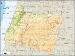 Oregon City Map by Geoatlas United States Canada Oregon Map City Illustrator