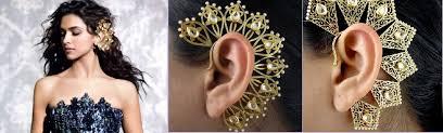 wearing ear cuffs the jewellery trend of 2015 gorgeous ear cuffs