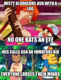 Pokemon Kid Meme - misty and iris joker meme pokemon by orionpaxg1 on deviantart