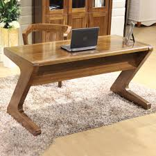 Walnut Computer Desks All Solid Wood Walnut Computer Desk Minimalist Home Laptop Type Z