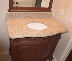 Bathroom Vanity Counter Top Bathroom Granite Or A Granite Vanity Top