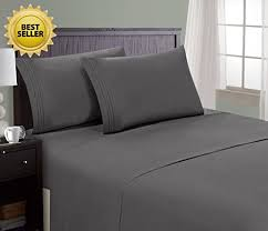 bed sheet quality hc collection bed sheet pillowcase set hotel luxury 1800 series