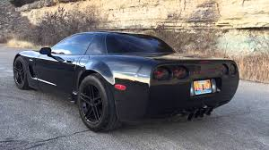 c5 corvette wide z06 corvette cammed widebody with slp loudmouths