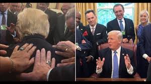 evangelical pastor and others prayed for trump in oval office
